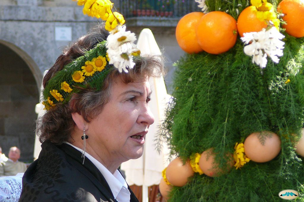 Maios en Pontevedra. Foto juantiagués 2009