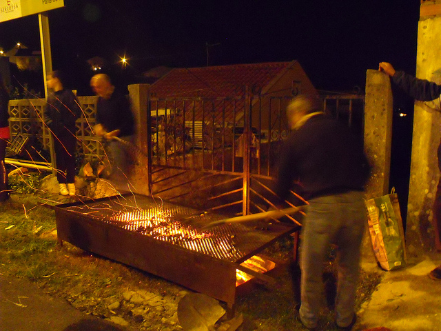 Samaín, Magosto popular en Raxó