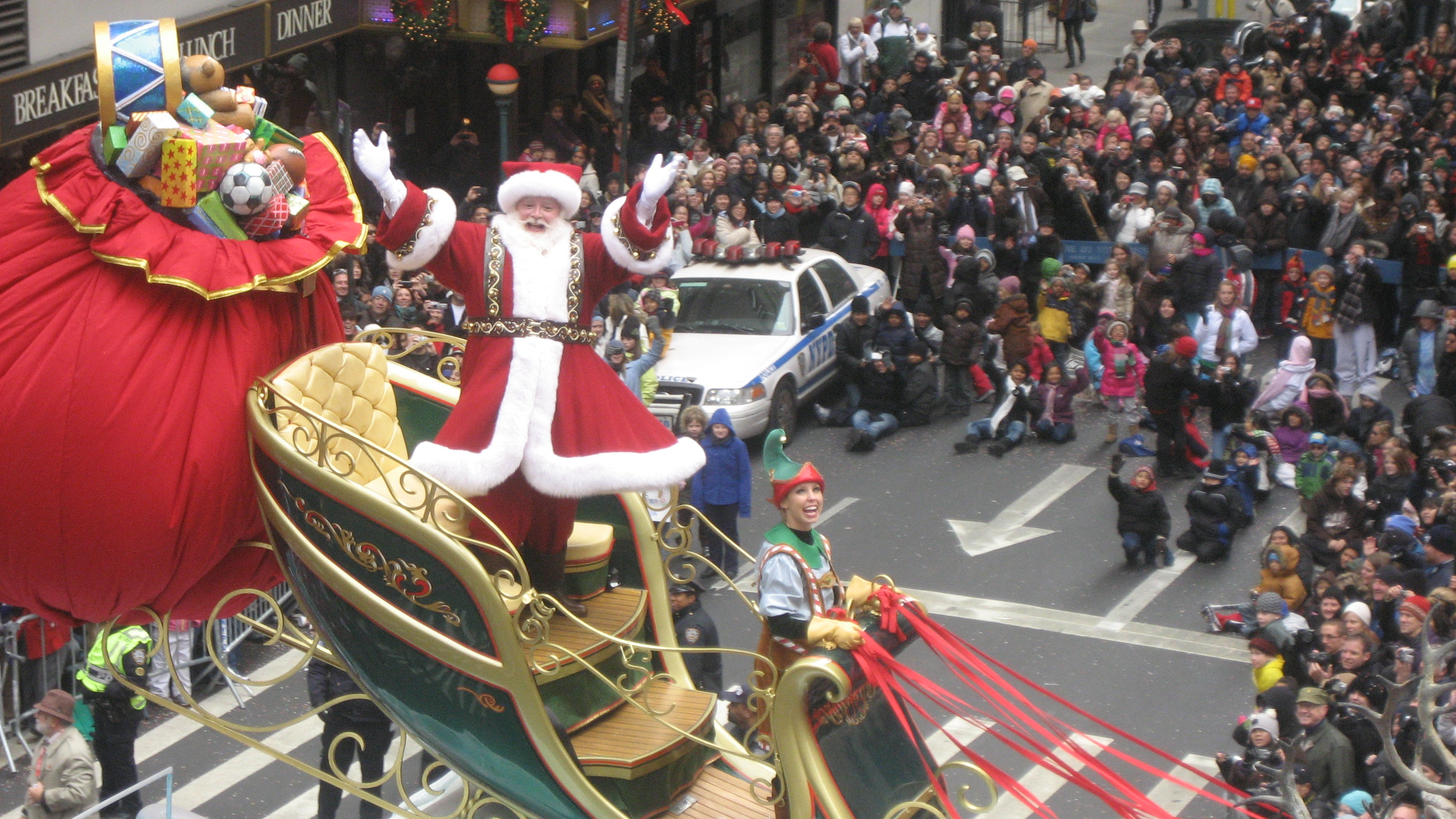 Santa Claus @ Macys Thanksgiving Parade