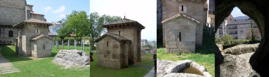Ilduara como San Rosendo, emparentada con todas as linaxes reais de Galiza, orientou a propósito esta capela de estilo pre-románico galego, non á Meca Vaites!!!, mais a Trebopala ou Toudopala, seguramente o sacrosanto entronizatorio altar onde se entronizaron os reis das Trebas Galaicas da súa prosapia