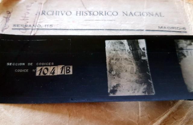 Addecet o Códice do mosteiro de San Martín de Xuvia, remitido polo AHN en 1990 con a sinatura 1041B, ten hoxe a sinatura 1047B, polo que procedemos a sua actualización.