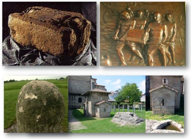 Crougin Toudadigo, Toudo Pala, Trebo Pala, original galego da Lia Faíl de Tara ou da Stone of Scone da Escócia