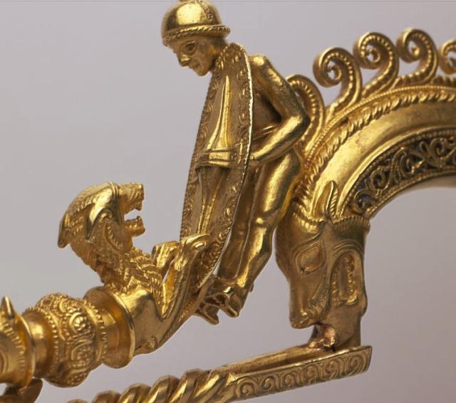 Fibula de Braganza. British Museum