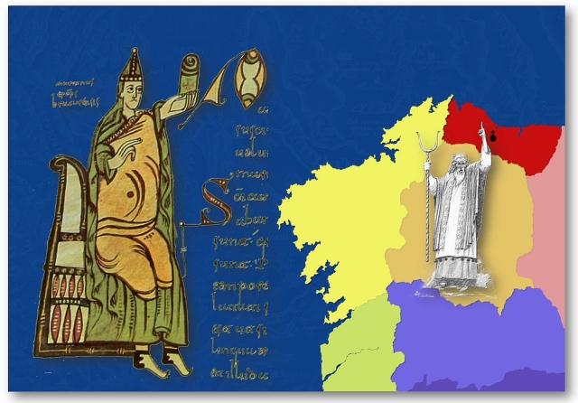 Martiño e Sedes Episcopais do primeiro Concilio de Lugo
