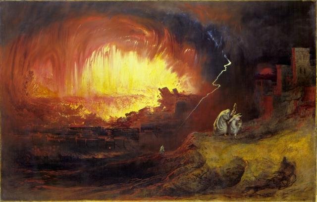Sodoma y Gomorra. John Martin