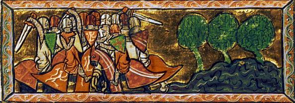 A demanda do Santo Graal m, Francais 342, ano 1274, procedente de Artois. Francia