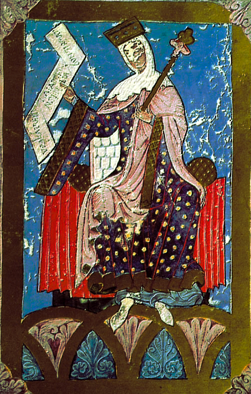 A raiña dona Urraca. Tombo A. Catedral de Santiago