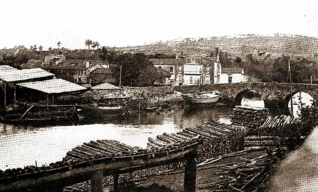Asteleiros do rio xubia