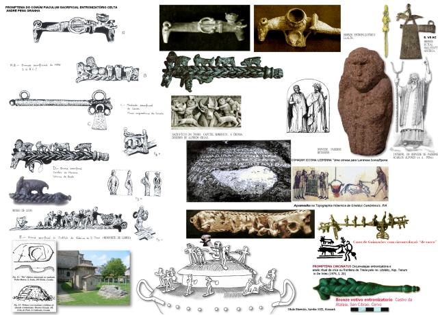 Oito bronces votivos entronizatorios de Gallaecia