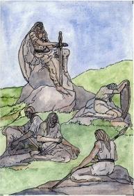 pétreos guerreiros Eva Merlán 001
